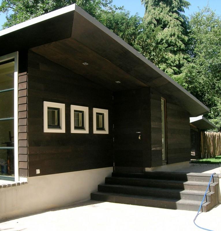 Uitbreiding bijgebouw reinier van der lugt bouwadvies ontwerp en begeleiding - Uitbreiding veranda ...